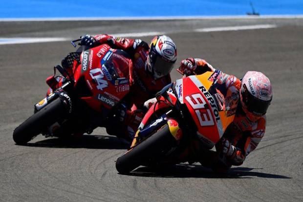 Dovizioso Percaya Marquez Tak Mungkin Jadi Keledai di MotoGP 2020