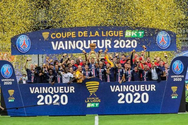 Bungkam Lyon Lewat Drama Tos-tosan, PSG Rebut Treble Domestik