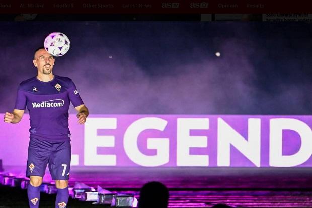 Fiorentina Perpanjang Kontrak Pelatih, Franck Ribery Bahagia