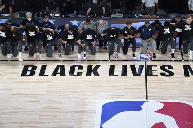 Kembali Bergulir, NBA Dibuka dengan Kampanye Black Lives Matter