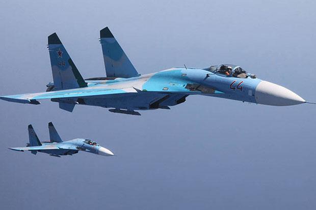 Di Atas Laut Hitam, Jet Tempur Rusia Cegat Pesawat Pengintai Amerika