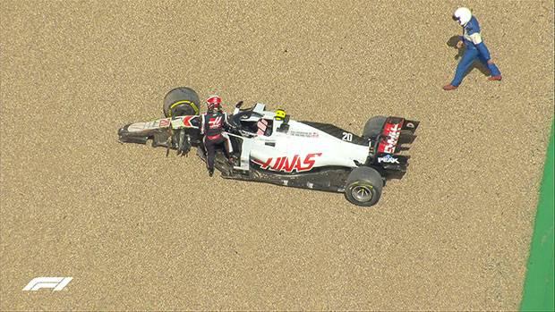 Kecelakaan Hebat Warnai Awal Lomba F1 GP Inggris 2020