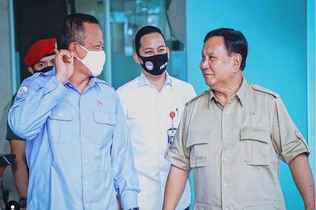 Ditemui Menhan, Edhy Prabowo: Kedatangan Tamu Kehormatan Sekaligus Guru Kehidupan