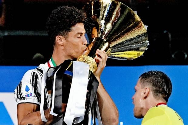 Isyaratkan Bertahan, Ronaldo Bidik Scudetto Ketiga Bersama Juventus