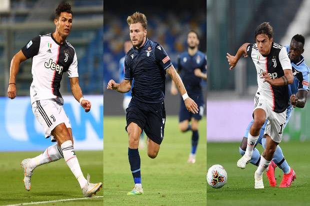Ronaldo, Immobile, Dybala Pimpin Dream Team Serie A 2019/2020 Versi Opta