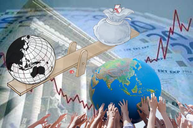 Ekonomi RI Minus 5,32%, Terparah Sejak Tahun 1999