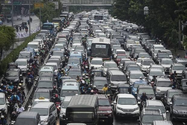 Menhub Sebut Kemacetan DKI Menghambat Pertumbuhan Ekonomi