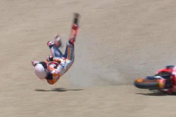 Tanda-Tanda Marquez Gagal Pertahankan Gelar Juara Dunia MotoGP