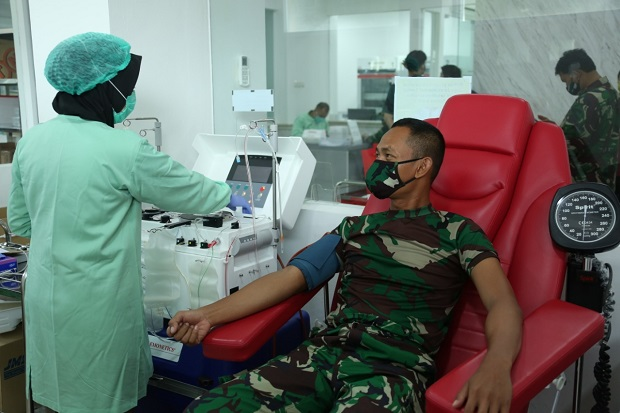 58 Siswa Dinyatakan Sembuh, Positif Corona di Secapa AD Tinggal 114 Orang
