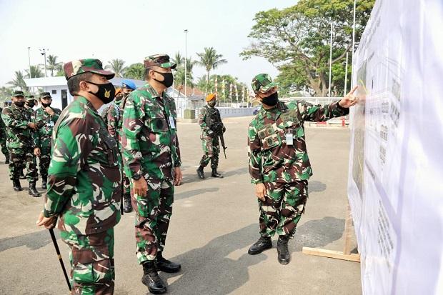 Lindungi Jakarta dengan Rudal, KSAU Tinjau Fasilitas Satuan Peluru Kendali