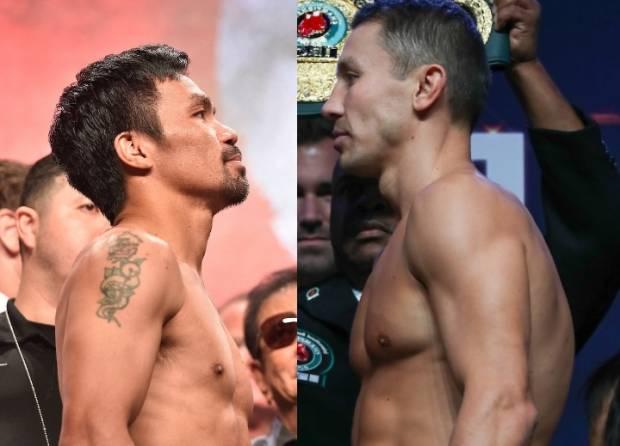 Skenario Pacquiao vs Golovkin, Manny: Ayo, Duel di Kelas 66,6 Kg!
