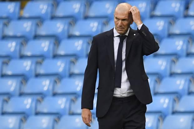 Disingkirkan Man City, Zidane : Saya Masih Pelatih Real Madrid