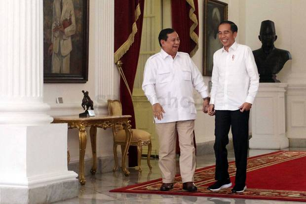 Di KLB Gerindra, Jokowi Ungkap Strategi Tunjuk Prabowo Urusi Cadangan Pangan