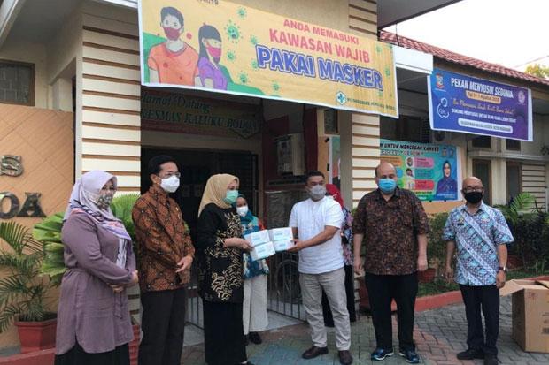 Perbanas Sulsel Bantu 5.000 Masker untuk Puskesmas di Makassar