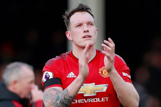 Man United vs Copenhagen, Phil Jones Ditinggal Solskjaer