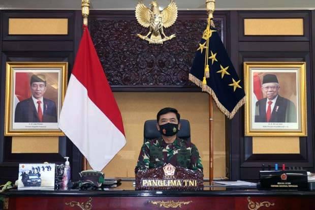 Panglima TNI Perintahkan Babinsa Tiga Matra Bantu Penegakan Protokol Covid-19