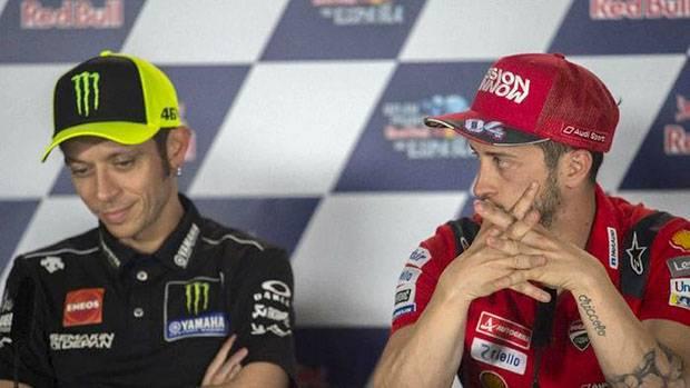 Jelang GP Republik Ceko, Valentino Rossi Sebut Yamaha-Ducati Senasib