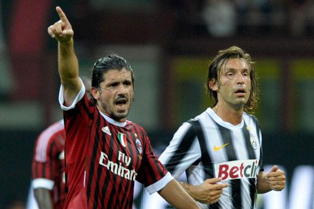Pirlo Nahkodai Juventus, Gattuso: Karir Bermain Hebat Tidaklah Cukup