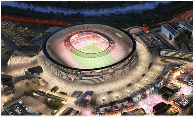 Rencana Pembangunan Stadio Della Roma Masuk Babak Baru