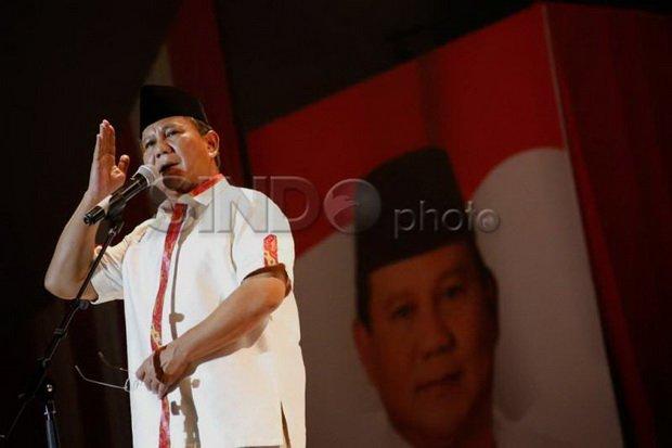 Prabowo Kembali Terpilih Jadi Ketum Gerindra, Pengamat: Kaderisasi Belum Jalan