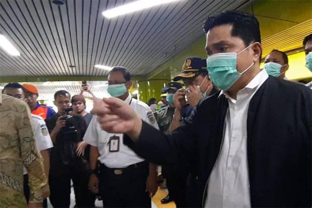 Mas Menteri Erick Thohir Jelaskan Posisinya di Antara Pak Doni Monardo