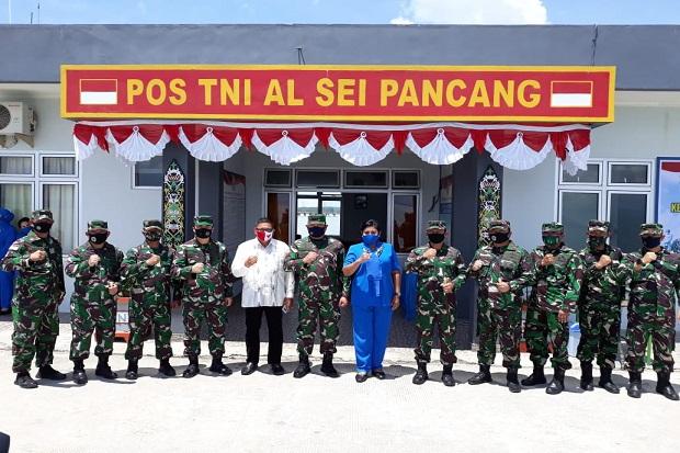 Kunjungi Pulau Sebatik, Ini Pesan KSAL Kepada Prajurit Marinir