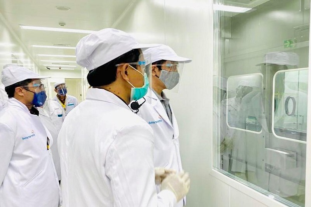 Presiden Jokowi Saksikan Penyuntikan Uji Klinis Vaksin Covid-19