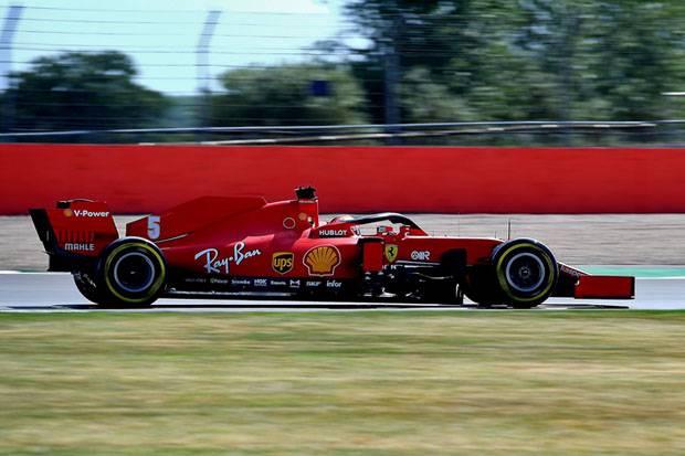Ferrari Ganti Sasis Vettel di GP Spanyol