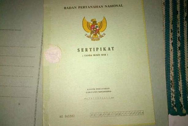 Kejati Sita 40 Sertifikat di Kawasan Hutan Mapongka Toraja