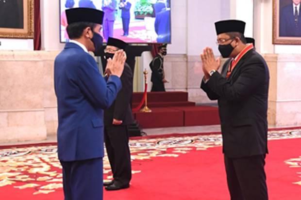 Terima Bintang Mahaputera dari Jokowi, Mahyudin Merasa Termotivasi