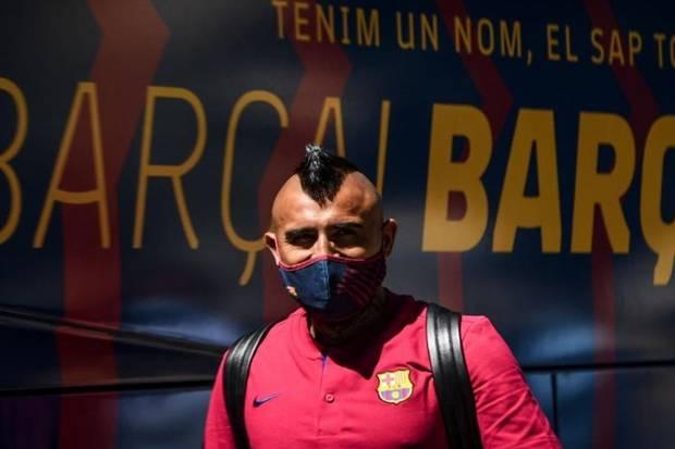 Barcelona vs Bayern Muenchen, Arturo Vidal : Ini Barca Bung!