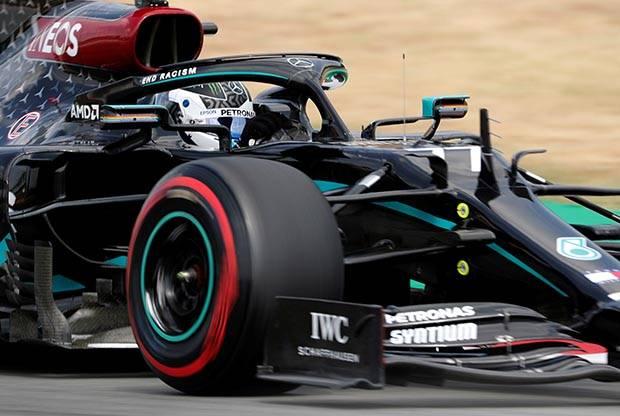 Valtteri Bottas Kalahkan Hamilton di Latihan Pertama GP Barcelona