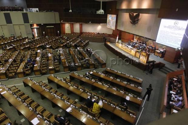 Sidang Pertama DPR 2020-2021 Dihadiri 98 Anggota Secara Fisik, 231 Virtual