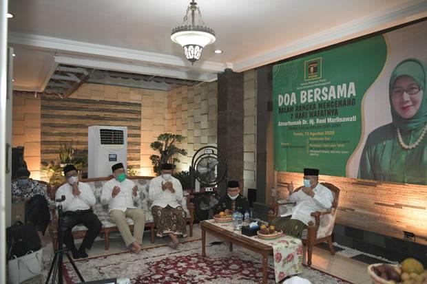 Doa Bersama, Suharso Monoarfa Kenang Perjuangan Reni Marlinawati