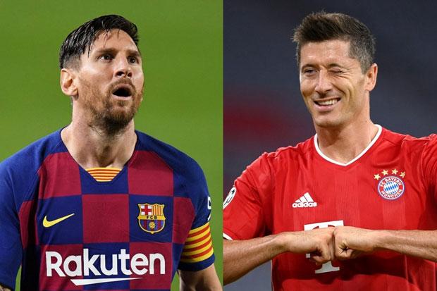 Vidal Akui Lewandowski Luar Biasa, Tapi Sebut Messi dari Planet Lain
