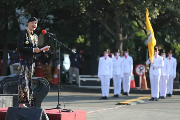 Tanpa Pesta Rakyat, Peringatan HUT Ke-70 Jawa Tengah Berlangsung Sederhana