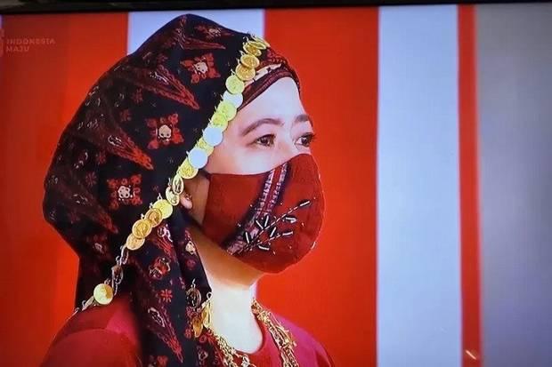 Puan Maharani Kenakan Tekuluk, Warga Jambi Beri Apresiasi