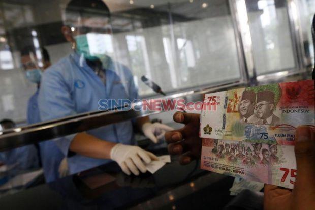BI Targetkan Penukaran Uang Rupiah 75 Tahun RI Capai 30 Ribu Lembar Per Hari