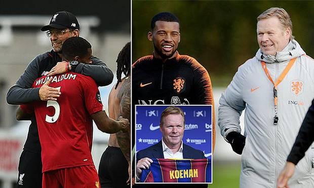 Lupakan Liverpool, Wijnaldum Dikabarkan Sepakat Gabung Barcelona