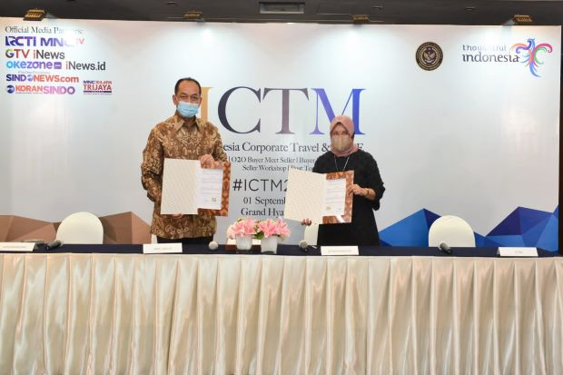 BMTR MICE Bangkitkan Industri MICE, Kemenparekraf Gandeng Global Mediacom...