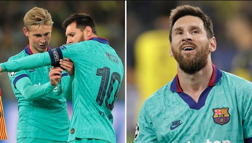 Frenkie de Jong: Messi Telah Membuat Kekacauan di Barcelona