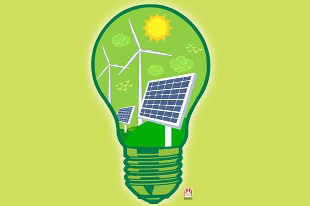 Menyiapkan Energi Terbarukan