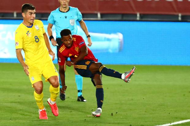 Cetak Gol Buat Spanyol, Ansu Fati Pecahkan Rekor Berusia 95 Tahun