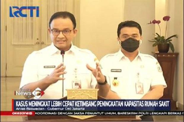 Anies Terapkan PSBB Jilid II, Menko Airlangga Gelar Rapat dengan 8 Kepala Daerah