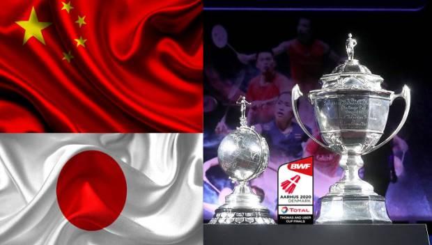 Indonesia Mundur, China-Jepang Pole Position Juara Thomas & Uber Cup