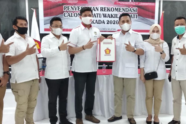 Gerindra Sulsel Instruksikan DPC Kampanyekan Adnan-Kio