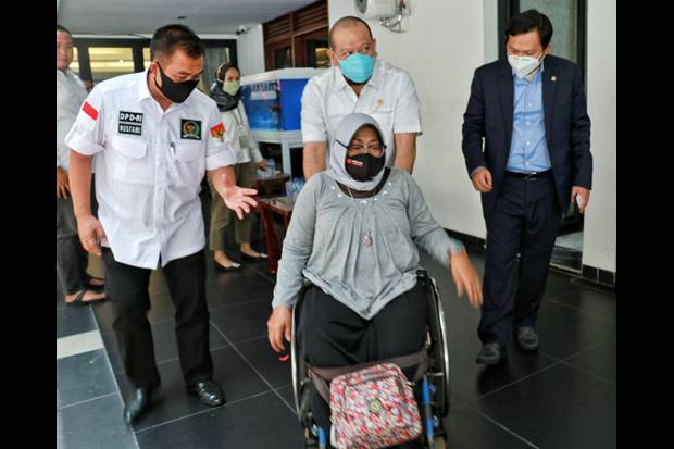 Ketua DPD Ajak Senator Advokasi Penyandang Disabilitas