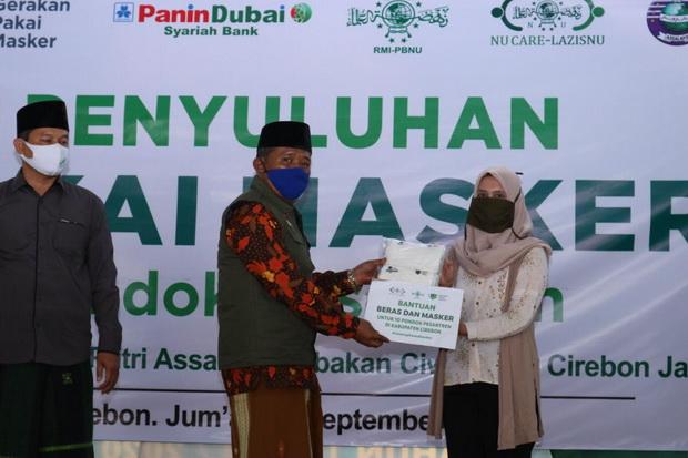 PNBS Ajak Santri Pakai Masker, Bank Panin Dubai Syariah dan GPM Kolabs   Halaman 2
