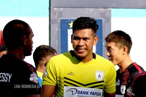 Cedera Jelang Lanjutan Liga 1 2020, Kiper Persipura Menolak Menyerah