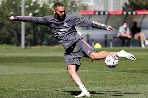 Cetak 4 Gol Lawan Tim Tetangga, Mesin Benzema Sudah Panas Jelang Tampil di La Liga 2020/2021